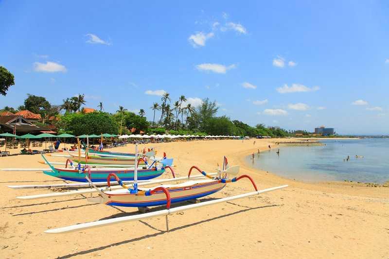 Бали пляж Санур