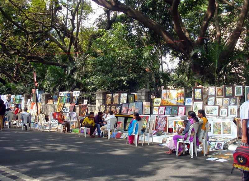Бангалор рынок Chitra Santhe