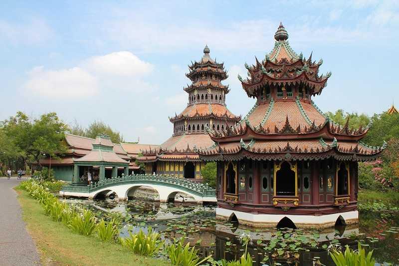 Бангкок Древний город Mueang Boran