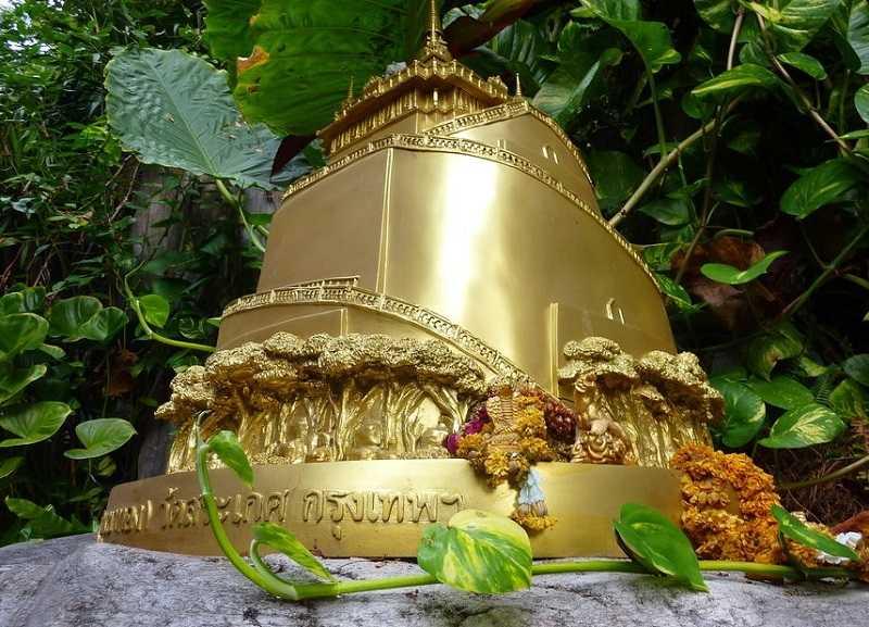 Бангкок Храм Золотой горы Ват Сакет2