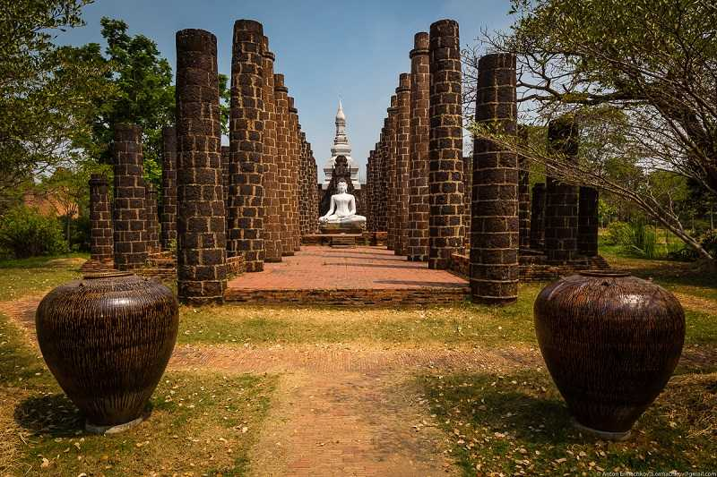 Бангкок Парк Муанг Боран осмотр
