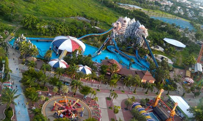 Бангкок Сиам Парк Water Park