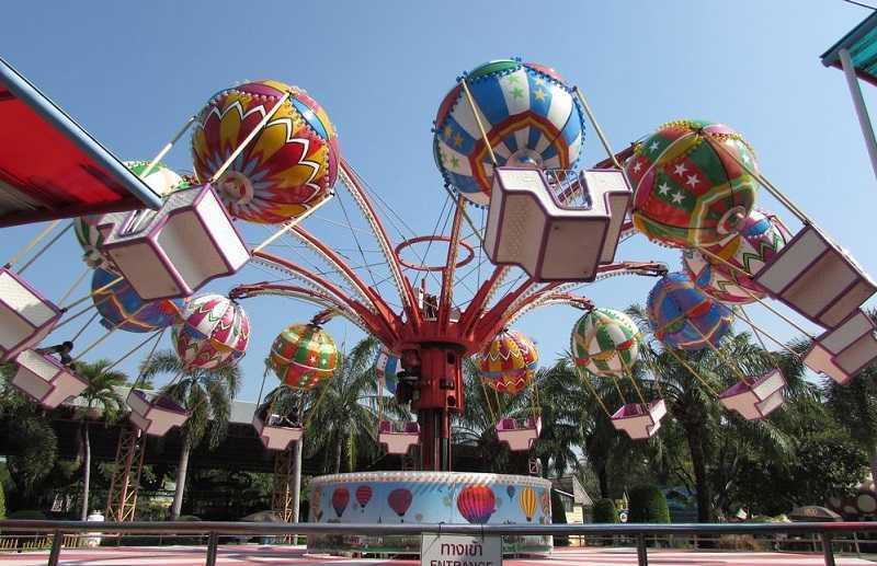 Бангкок Сиам Парк детские аттракционы