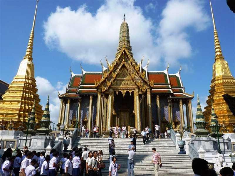 Бангкок храм Золотого Будды