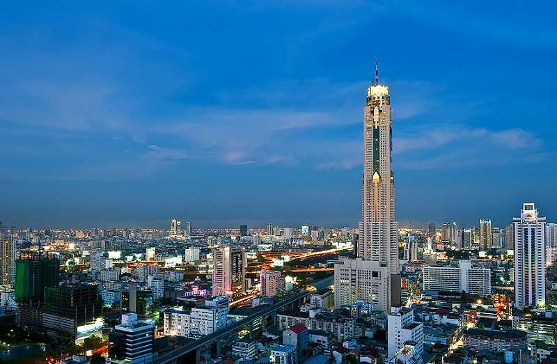 Бангкок небоскреб Байок Скай