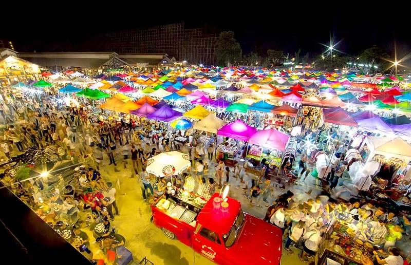 Бангкок ночной рынок