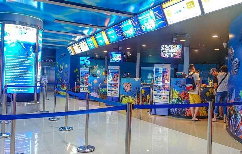 Бангкок океанариум Siam Ocean World покупка билета