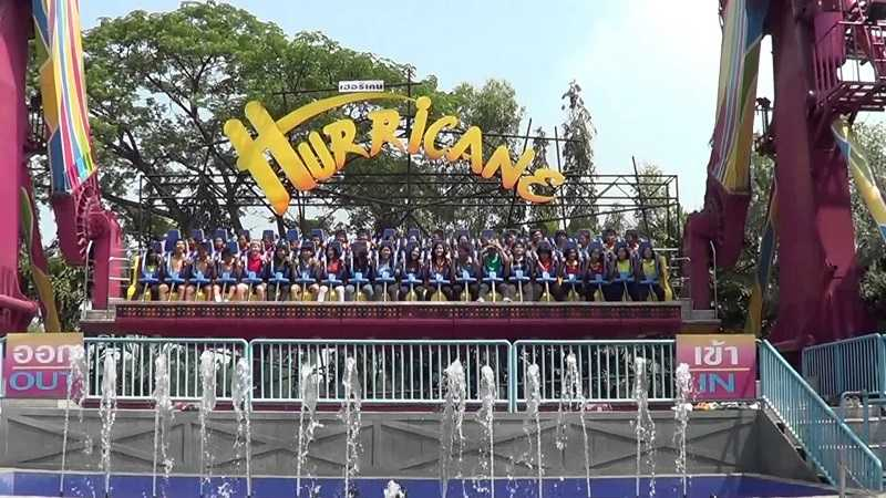 Бангкок парк развлечений Дрим Ворлд атракционы