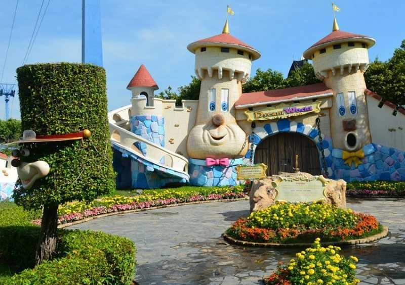Бангкок парк развлечений Дрим Ворлд зона Страна фантазий