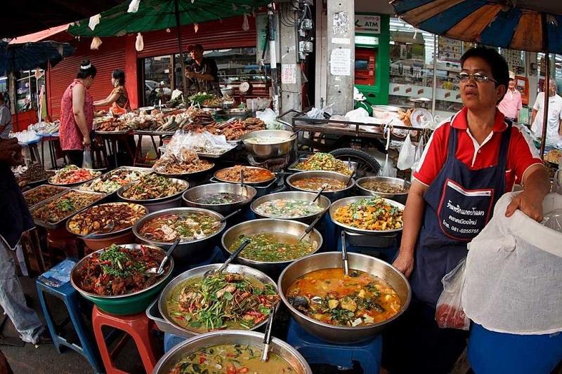 Бангкок продуктовый рынок