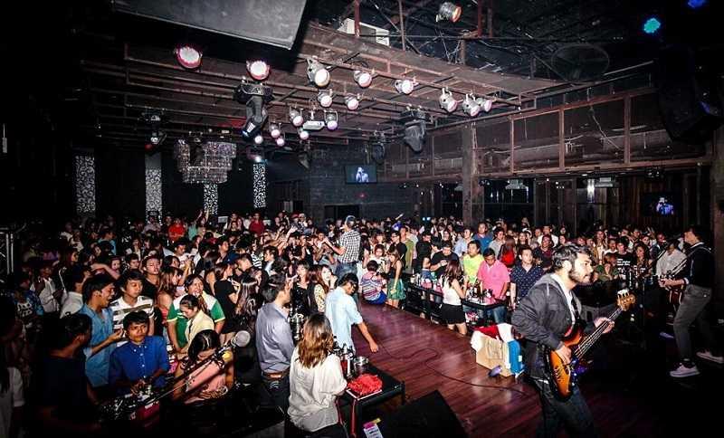 Бангкок район Каосан Роуд ночные клубы