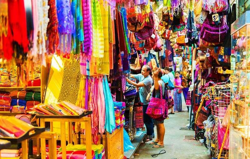 Бангкок рынок Пратунам