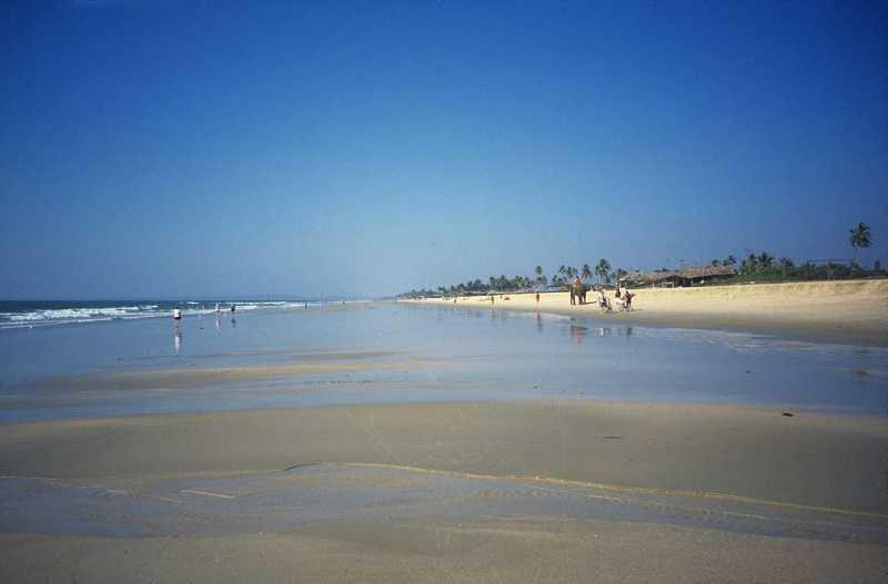 Бенаулим пляж