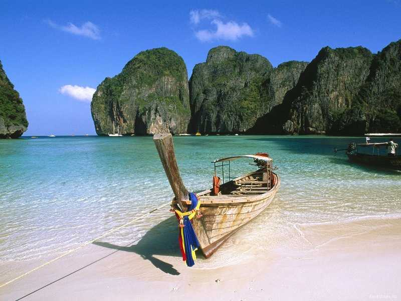 Бухта майя бэй в таиланде