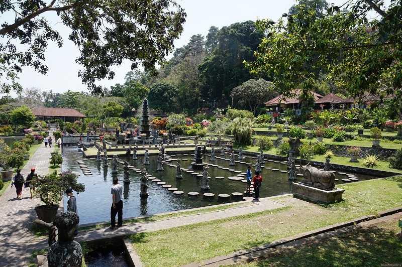 Чандидаса водный дворец Тирта Ганга и Уджунга