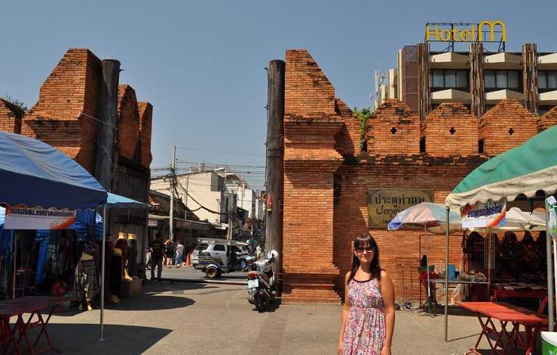 Чиангмай стены старого города