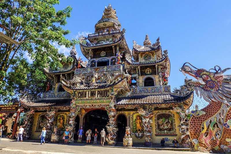 Далата пагода Линь Фуок