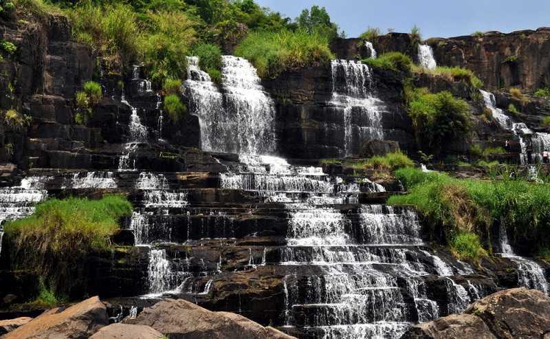 Далата водопады