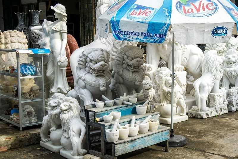 Дананг мраморные горы сувенирная продукция