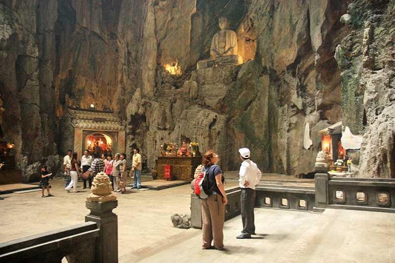 Дананг мраморные горы вход