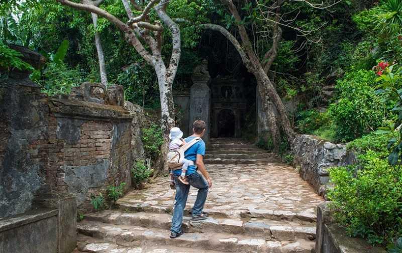 Дананг мраморные горы заброшенный вход