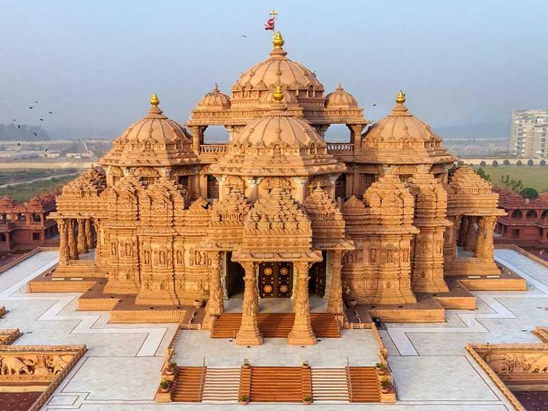 Дели храм Акшардхам