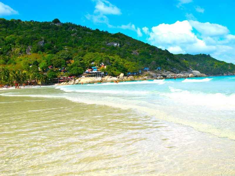 Достопримечательности на острове Панган