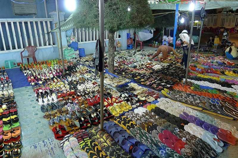 Дуонг Донг ночной базар