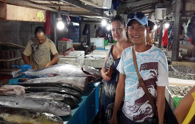 Джимбаран на Бали Рыбный рынок