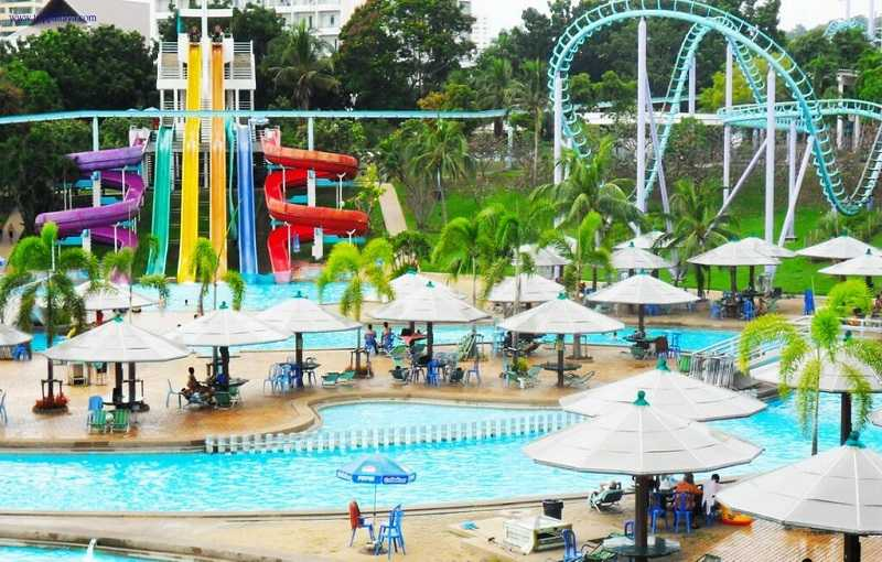 Джомтьен в Паттайе аквапарк
