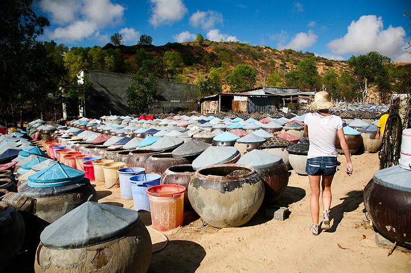 Фабрика по производству рыбного соуса