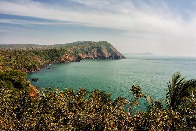 Гоа Мобор форт Кабо Де Рама обзорная площадка