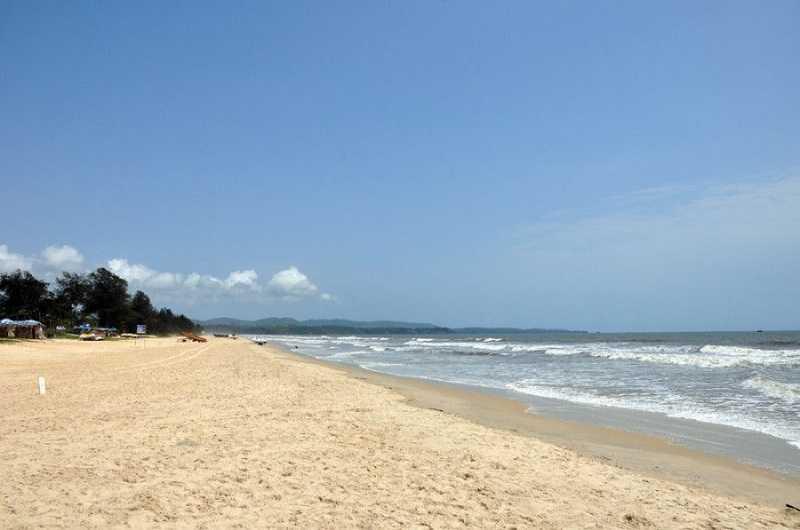 Гоа Мобор пляж