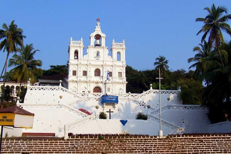 Гоа Панаджи Церковь Непорочного Зачатия Девы Марии