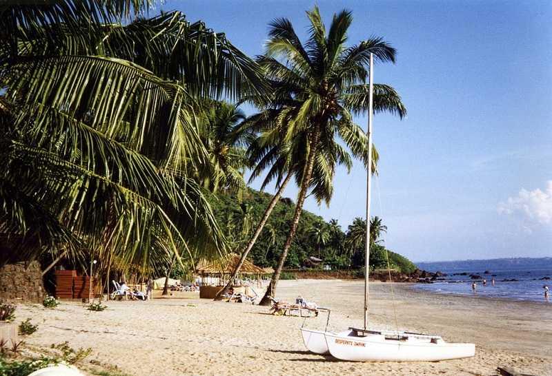 Гоа Панаджи пляж Ваингуиним