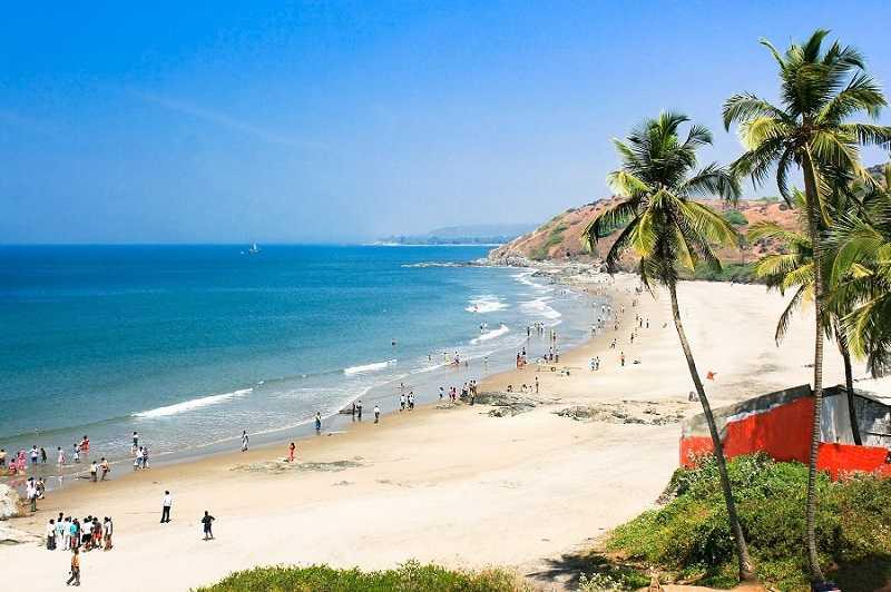 Гоа Варка пляж