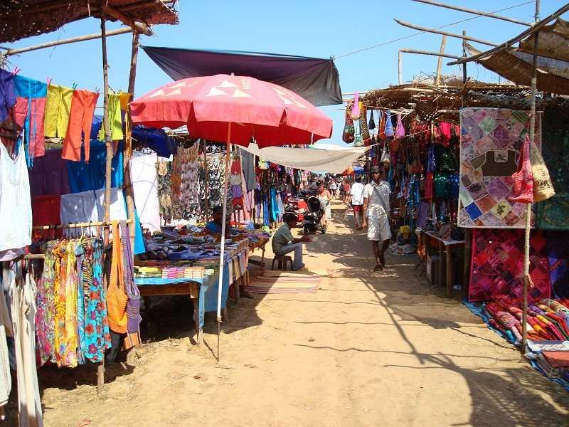 Гоа пляж Анджуна