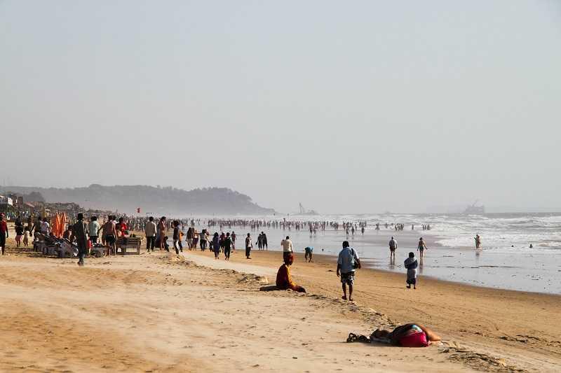 Гоа пляж Калангут