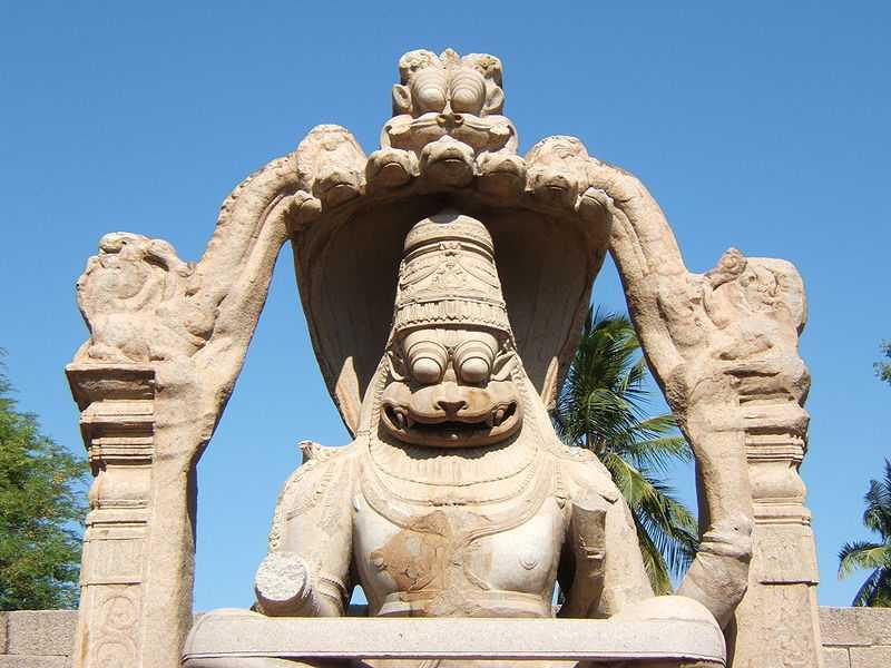 Хампи Статуя Нарасимхи