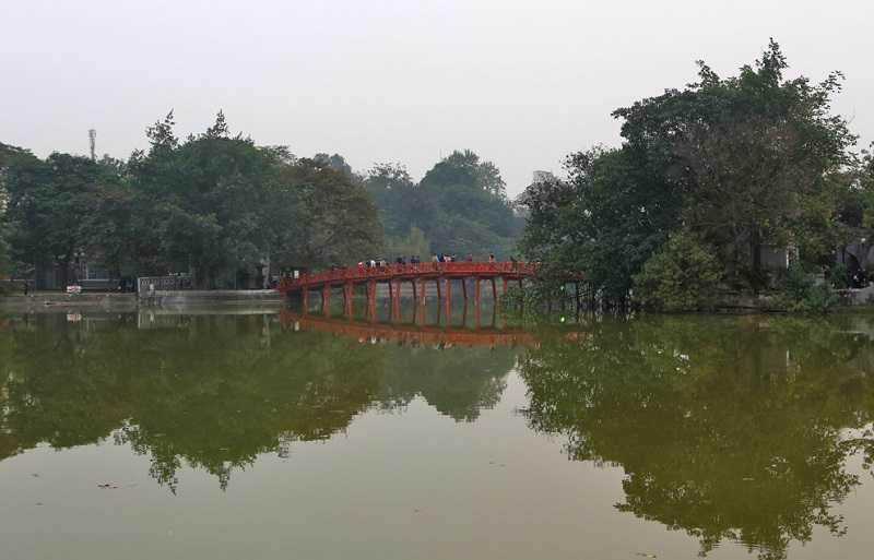 Хоанкьем озеро возвращённого меча