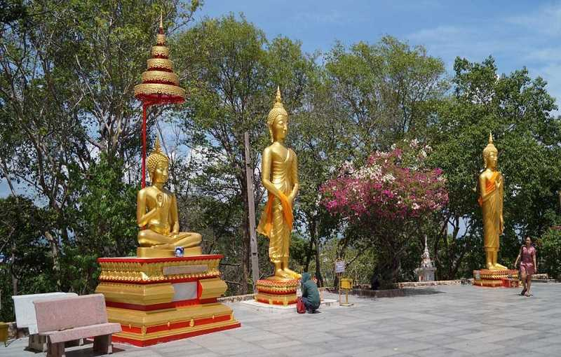 Холм Большого Будды в Паттайе божества