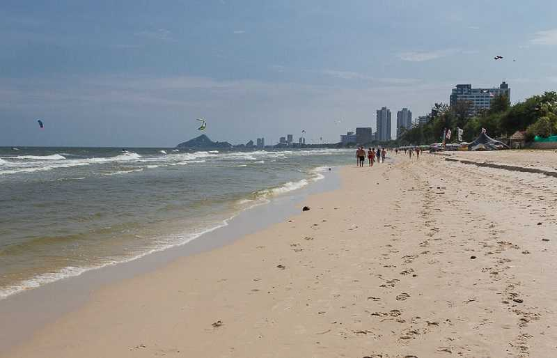 Хуа Хин пляж Такиаб