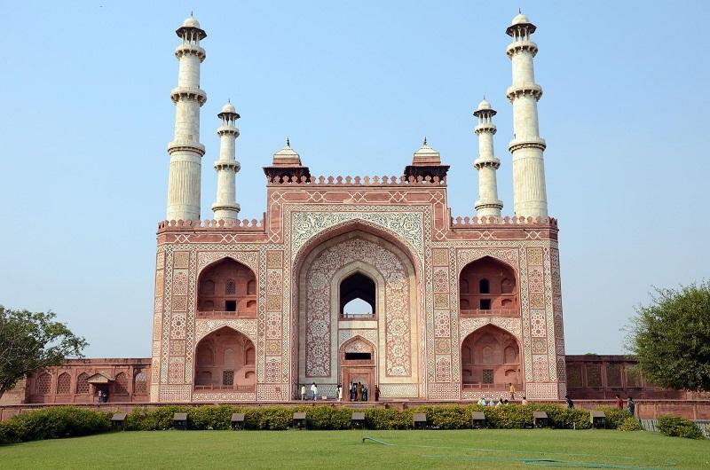 Индия Гробница Акбара