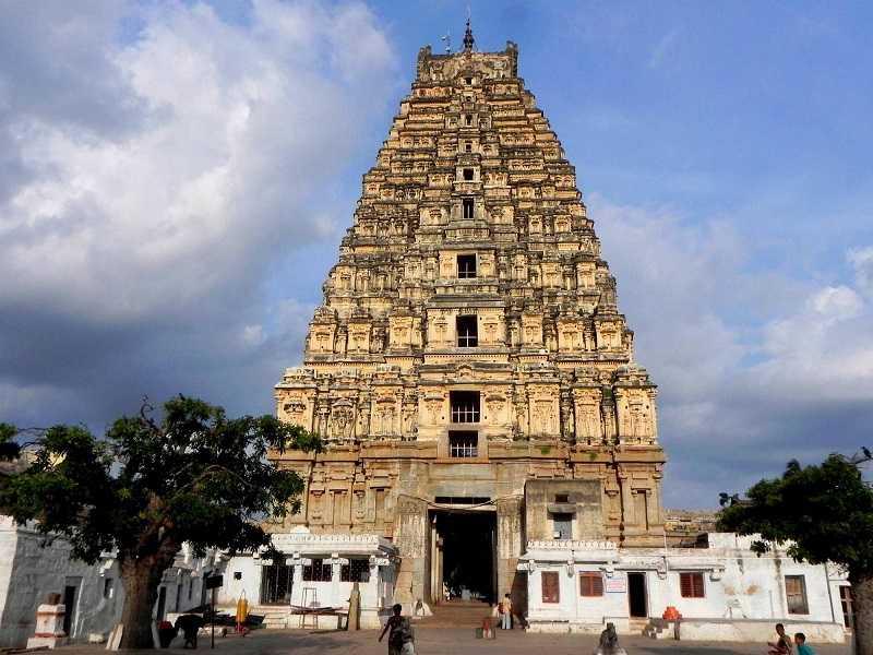 Индия Храм Вирупакша