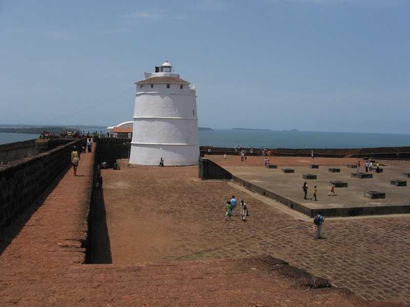 Индия Крепость форт Агуада