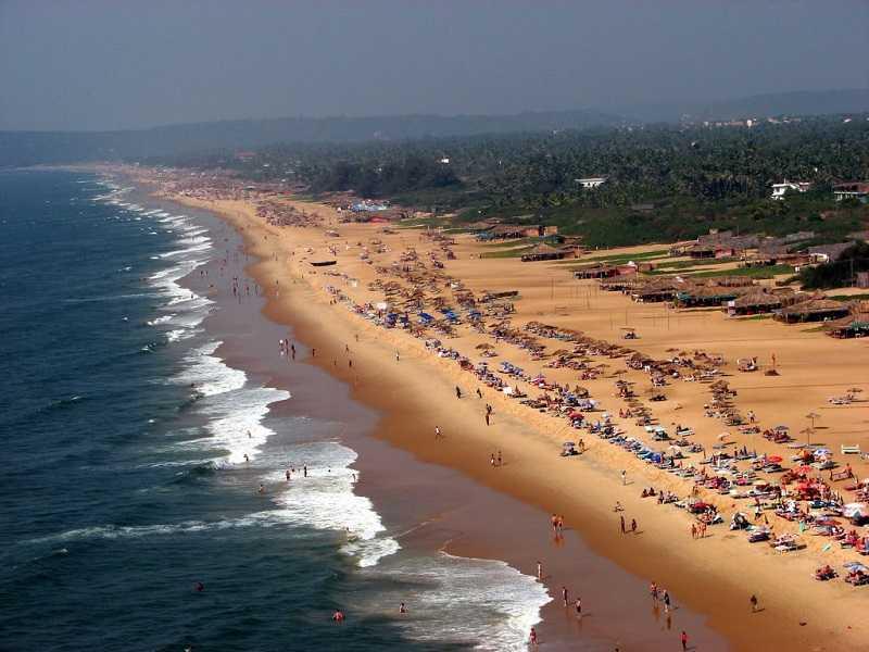 Индия Курорт Калангут