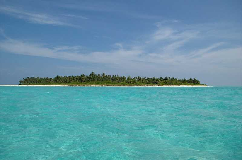 Индия Остров Кадмат