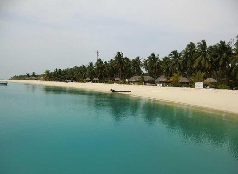 Индия Остров Каваратти