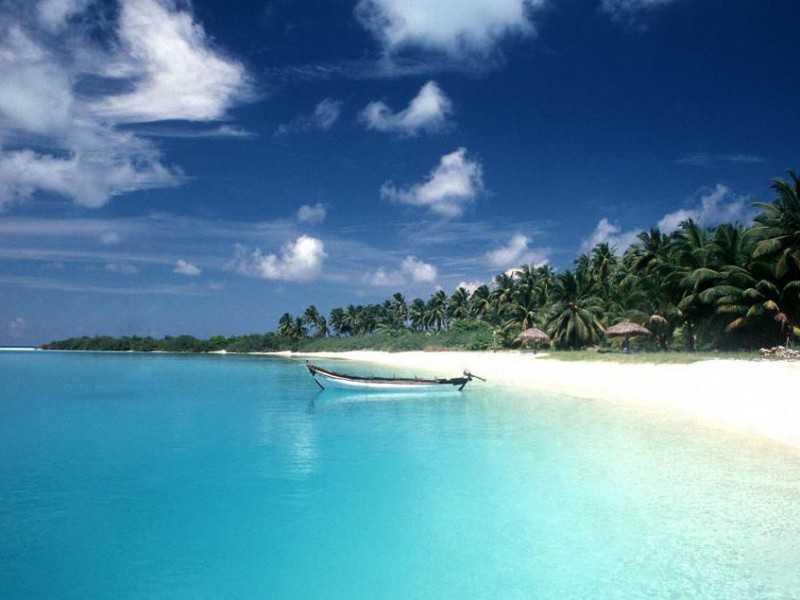 Индия Остров Миникой