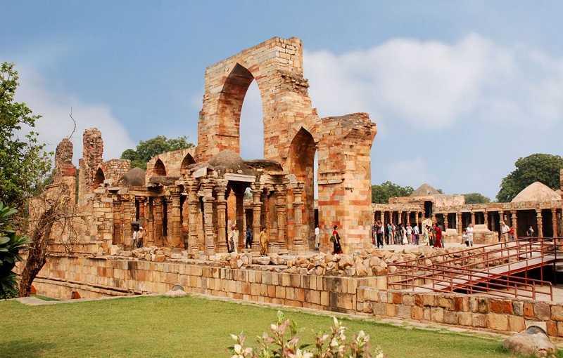 Индия Руины